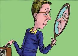 5 falacias del pensamiento egocntrico for Syndrome miroir